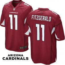 Arizona Cardinals #11 Larry Fitzgerald Cardinal Game Jersey