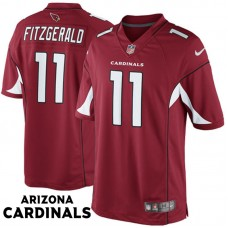 Arizona Cardinals #11 Larry Fitzgerald Cardinal Limited Jersey