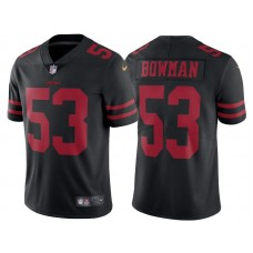 2017 San Francisco 49ers #53 NaVorro Bowman Black Vapor Untouchable Limited Jersey