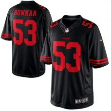 San Francisco 49ers #53 NaVorro Bowman Black Limited Jersey