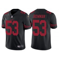 San Francisco 49ers #53 Navorro Bowman Black Color Rush Limited Jersey - Light Up Thursday Night