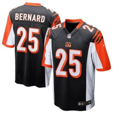 Youth Cincinnati Bengals #25 Giovani Bernard Black Replica Game Jersey