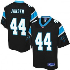 Carolina Panthers #44 JJ Jansen Pro Line Team Color Jersey