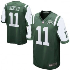 New York Jets #11 Jeremy Kerley Green Game Jersey