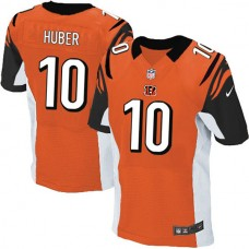 Cincinnati Bengals #10 Kevin Huber Elite Orange Jersey