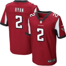Atlanta Falcons #2 Matt Ryan Elite Red Jersey
