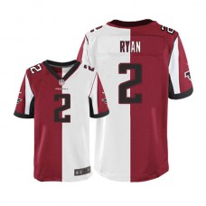Atlanta Falcons #2 Matt Ryan Elite Two Tone Team Road Jersey