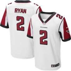 Atlanta Falcons #2 Matt Ryan Elite White Jersey
