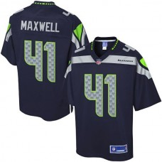 Pro Line Seattle Seahawks #41 Byron Maxwell Team Color Jersey