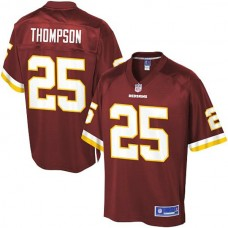 Pro Line Washington Redskins #25 Chris Thompson Team Color Jersey