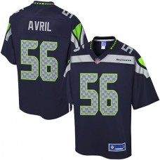Pro Line Seattle Seahawks #56 Cliff Avril Team Color Jersey