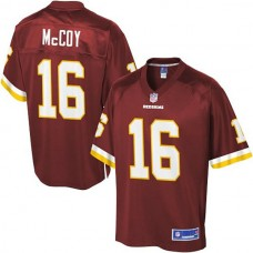 Pro Line Washington Redskins #16 Colt McCoy Team Color Jersey