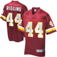 Pro Line Washington Redskins #44 John Riggins Retired Player Jersey