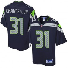 Pro Line Seattle Seahawks #31 Kam Chancellor Team Color Jersey