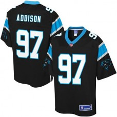 Pro Line Carolina Panthers #97 Mario Addison Team Color Jersey