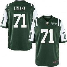 Youth New York Jets #71 Ben Ijalana Team Color Game Jersey