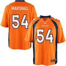 Youth Denver Broncos #54 Brandon Marshall Team Color Game Jersey