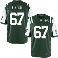 Youth New York Jets #67 Brian Winters Team Color Game Jersey