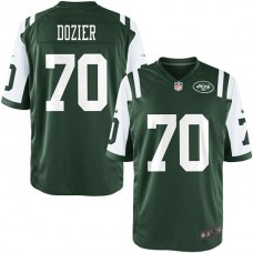 Youth New York Jets #70 Dakota Dozier Team Color Game Jersey