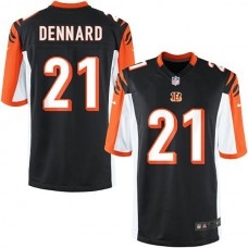 Youth Cincinnati Bengals #21 Darqueze Dennard Team Color Game Jersey