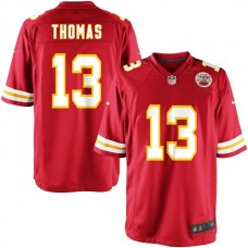 Youth Kansas City Chiefs #13 De'Anthony Thomas Team Color Game Jersey