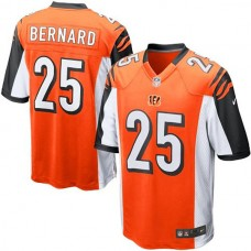 Youth Cincinnati Bengals #25 Giovani Bernard Orange Alternate Game Jersey