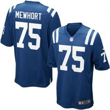 Youth Indianapolis Colts #75 Jack Mewhort Team Color Game Jersey