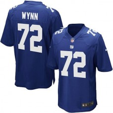 Youth New York Giants #72 Kerry Wynn Team Color Game Jersey