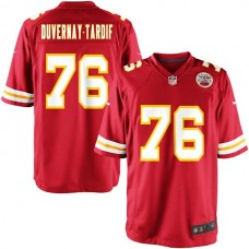 Youth Kansas City Chiefs #76 Laurent Duvernay-Tardif Team Color Game Jersey