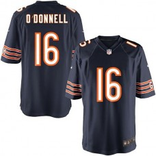Youth Chicago Bears #16 Pat O''Donnell Team Color Game Jersey