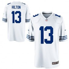 Youth Indianapolis Colts #13 TY Hilton White Alternate Game Jersey
