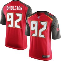 Youth William Gholston Red Tampa Bay Game Jersey