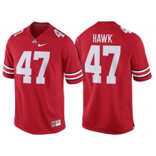 A.J. Hawk #47 Ohio State Buckeyes Scarlet College Football Jersey