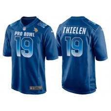 2018 Pro Bowl NFC Minnesota Vikings #19 Adam Thielen Royal Game Jersey