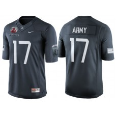 Ahmad Bradshaw #17 Army Black Knights Anthracite Airborne Tribute College Football Jersey