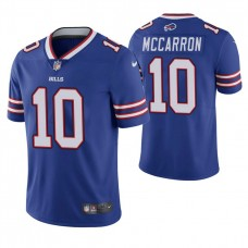 Buffalo Bills #10 AJ McCarron Royal Vapor Untouchable Limited Player Jersey