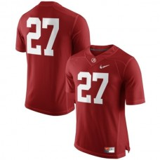 Alabama Crimson Tide #27 Derrick Henry Red College Football Jersey