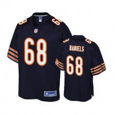 Youth Chicago Bears #68 James Daniels Navy Player 2018 Draft Jersey