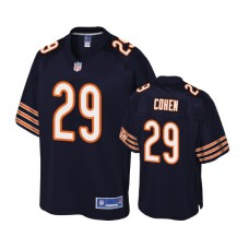 Youth Chicago Bears #29 Tarik Cohen Navy Player Pro Line Jersey