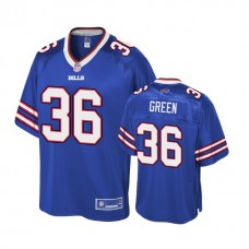 Youth Buffalo Bills #36 Aaron Green Royal Player Pro Line Jersey
