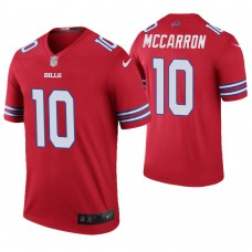 Buffalo Bills #10 AJ McCarron Red Color Rush Legend Jersey
