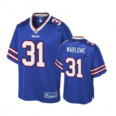 Youth Buffalo Bills #31 Dean Marlowe Royal Player Pro Line Jersey