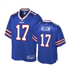 Youth Buffalo Bills #17 Josh Allen Royal Player Pro Line Jersey