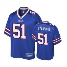 Youth Buffalo Bills #51 Julian Stanford Royal Player Pro Line Jersey