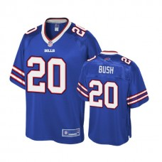 Youth Buffalo Bills #20 Rafael Bush Royal Player Pro Line Jersey