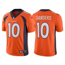 2017 Denver Broncos #10 Emmanuel Sanders Orange Vapor Untouchable Limited Jersey
