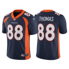 2017 Denver Broncos #88 Demaryius Thomas Navy Vapor Untouchable Limited Jersey