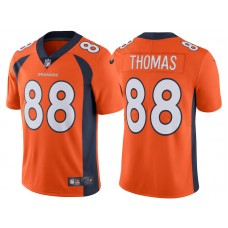 2017 Denver Broncos #88 Demaryius Thomas Orange Vapor Untouchable Limited Jersey