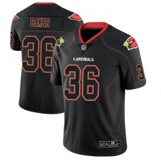 Arizona Cardinals #36 Budda Baker 2018 Lights Out Color Rush Limited Black Jersey