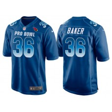 2018 Pro Bowl NFC Arizona Cardinals #36 Budda Baker Royal Game Jersey